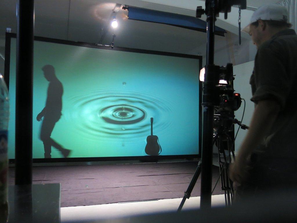 Musikvideo Dreh